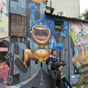 Beco do Batman, Sao Paulo