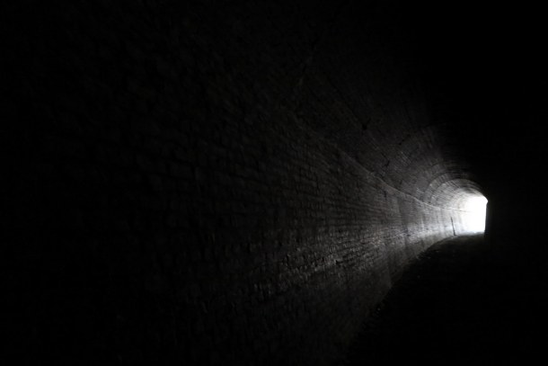 The light at the end of the tunnel... may be you (Aerosmith)