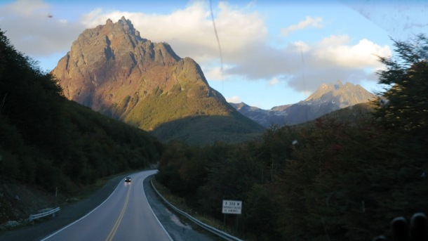 The sights on the way out of Ushuaia