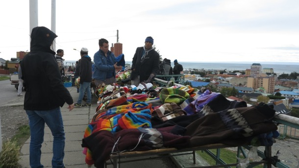 Legit Mapuche selling legit hippie stuff. I got pants for three luka (CLP3,000 or about R60)
