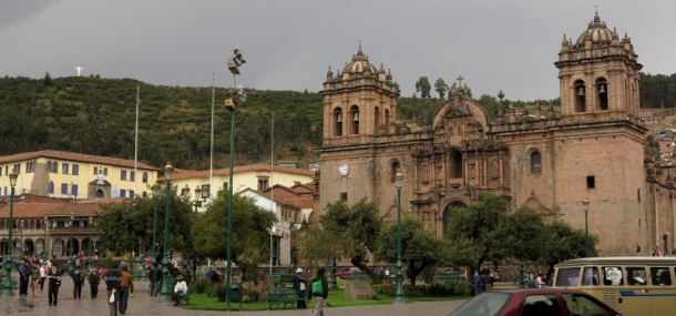 I'd be lying if I said I learnt anything about Cusco While I was there. It is very pretty, though